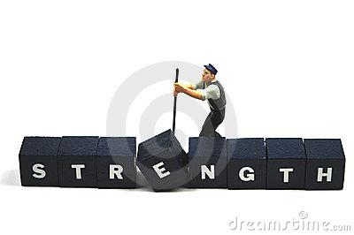 Use Your Strength Royalty Free Stock Image - Image: 10626876