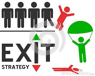 Exit Strategy Concept Stock Photo - Image: 28375710