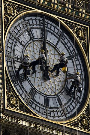 "English: The Westminster Clock (""Big Ben&..."