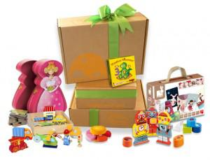 Little Pnuts delivers special care packages with toys that meet your child's developmental milestones.