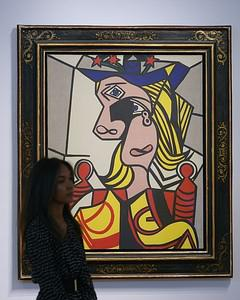 'Woman with flowered hat' by Roy Lichtenstein ...