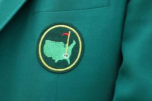 AUGUSTA, GA - APRIL 02:  A Masters logo is see...