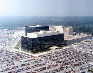 Headquarters of the NSA at Fort Meade, Maryland. (Photo credit: Wikipedia)