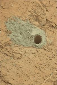 Curiosity Drills A Second Hole On Mars
