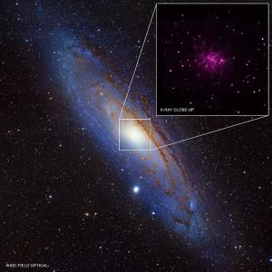 Astronomers Find 26 New Black Holes In The Andromeda Galaxy