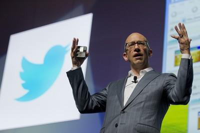 In a buying mood: Twitter CEO Dick Costolo (Credit: AP)