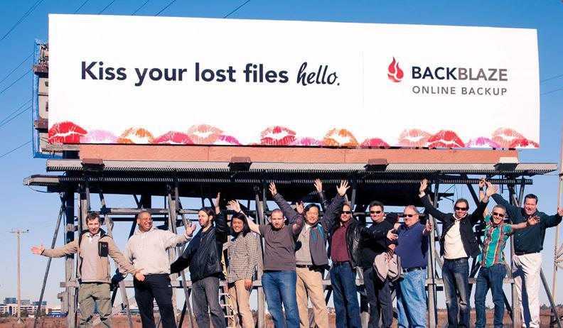 backblaze billboard