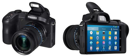 Samsung Galaxy NX: Galaxy Cam Followers With Interchangeable Lenses?