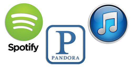 Quest For The Perfect Playlist: iTunes Radio, Pandora And Spotify