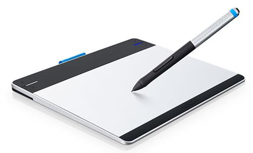 The Intuos Pen & Touch graphics tablet