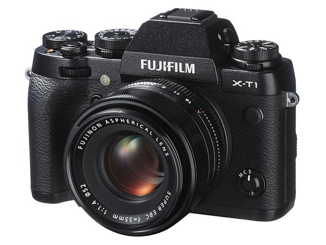 The Fujifilm X-T1 combines a weather-sealed body and wealth of manual controls with a retro SLR design.