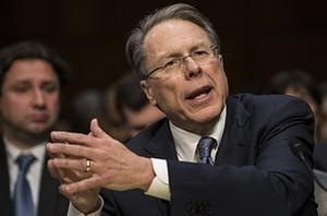 Wayne LaPierre, Chief Executive Officer of the...