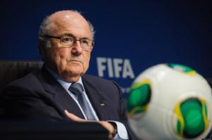 FIFA's President Sepp Blatter (Photo by Sebastien Bozon/AFP/Getty Images)