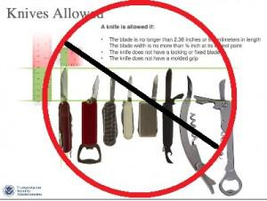 Tsa Cancels Decision Allowing Knives On Planes