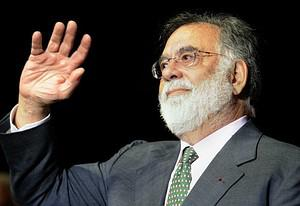 US director Francis Ford Coppola waves to the ...