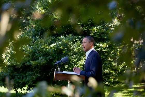 Obama on Martha's Vineyard, August 2011