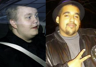 WikiLeaks informant Sigurdur Thordarson, left, and LulzSec informant Hector Xavier Monsegur.