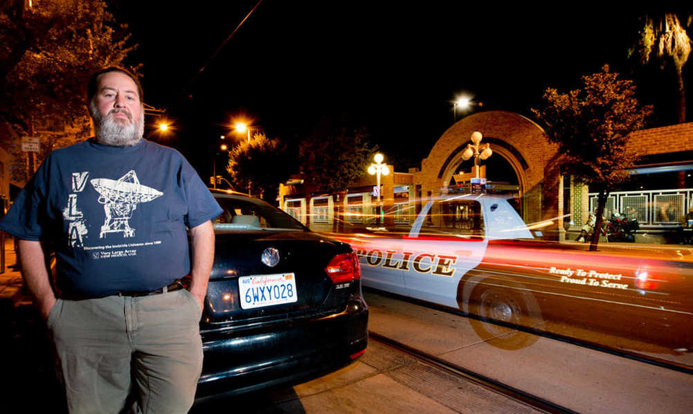 San Leandro, Calif. community activist Michael Katz-Lacabe has taken a stand against cops using... [+] Palantir to analyze license plate photos of millions of unsuspecting drivers. (Credit: Eric Millette for Forbes)