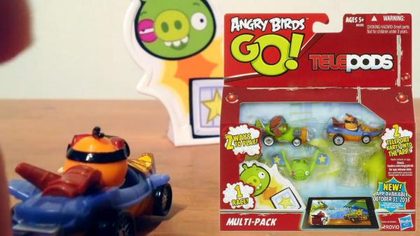 Angry Birds Go Toys : Review angry birds go toys extend telepod s form and