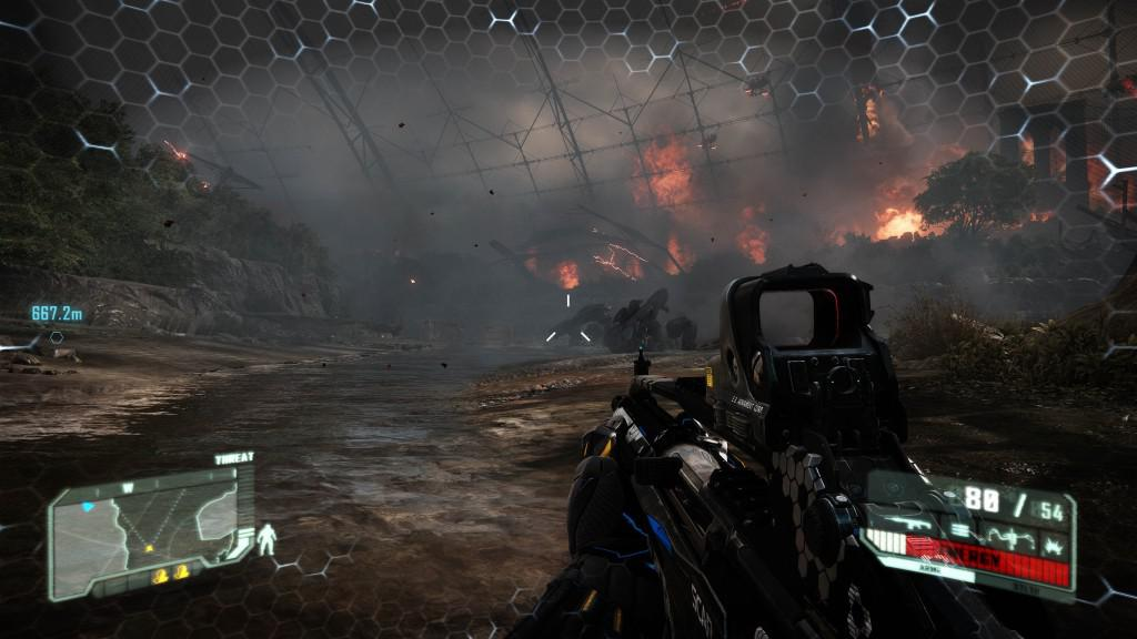 Games such as Crysis 3 look spectacular at 4K - click for full resolution