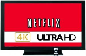 Netflix has recently shown it's desire to be a 4K pioneer by trialing 4K video streaming