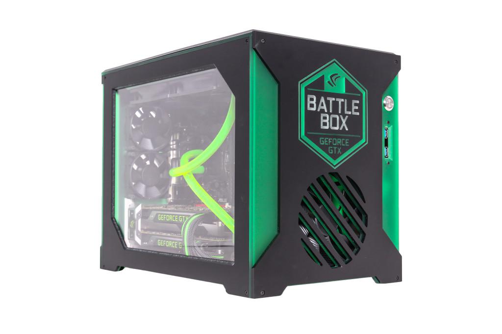 Computer Planet Nvidia Battlebox -  a PC designed to play games at 4K