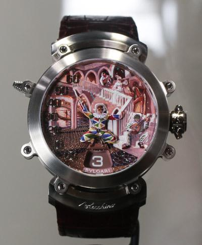 Bulgari Commedia Dell'Arte, A Wrist Watch That Sings And ...