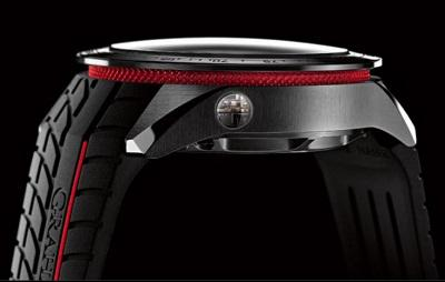 Graham Silverstone RS Skeleton watch side