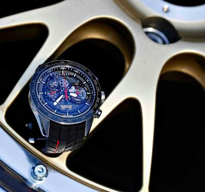 Graham Silverstone Skeleton watch