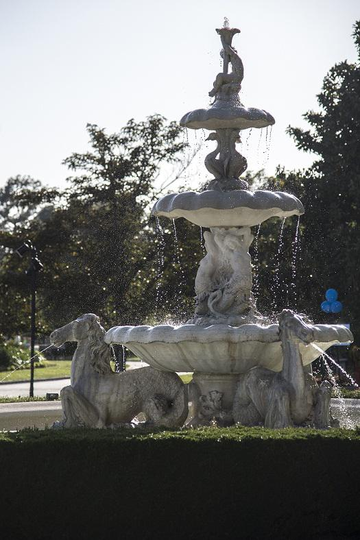 One of Pearson's beloved fountains at the Huntington. (Photo by Martha Benedict.)