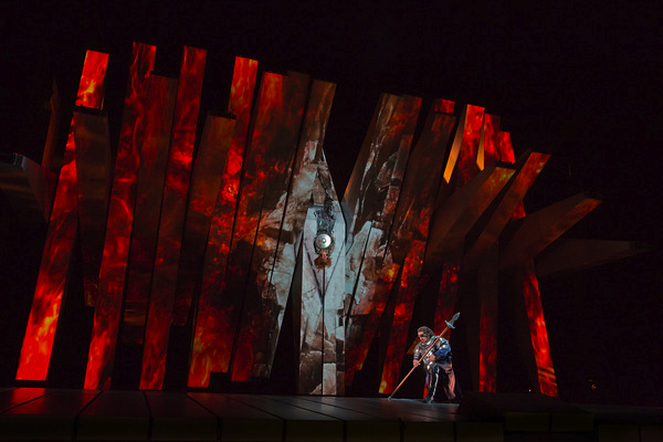 "Act 3 of Wagner's ""Die Walküre"" Photo: Ken Howard/Metropolitan Opera"