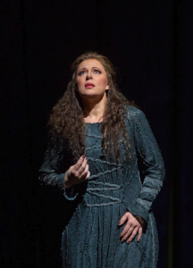 Martina Serafin as Sieglinde in Wagner's ″Die Walküre″