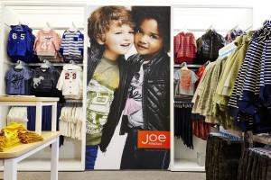 J.C. Penney says its exclusivce Joe Fresh Kids line from the fast-fashion chain should help revive... [+] sales at the department store chain.
