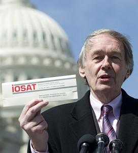 US Democratic Representative Ed Markey of Mass...