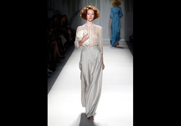 Jenny Packham Runway Mercedes Benz Fashion Week Spring