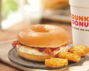 Dunkin Donuts Gains In Perception With New Food And Drink Items