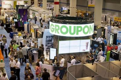 Tradeshow at McCormick Place, on Sunday, May 19, 2013 in Chicago. (Credit:AP Images for Groupon)