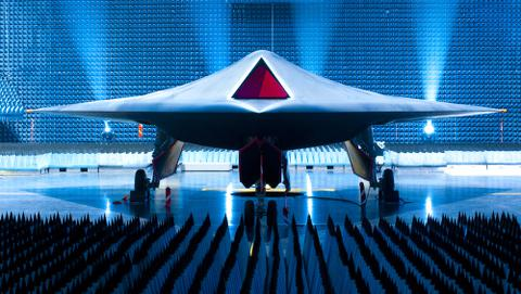 Unmanned combat air vehicle Taranis (Credit: BAE Systems)