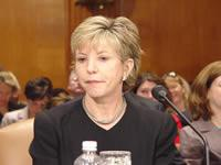English: Photo of Karen Ignagni testimony in t...