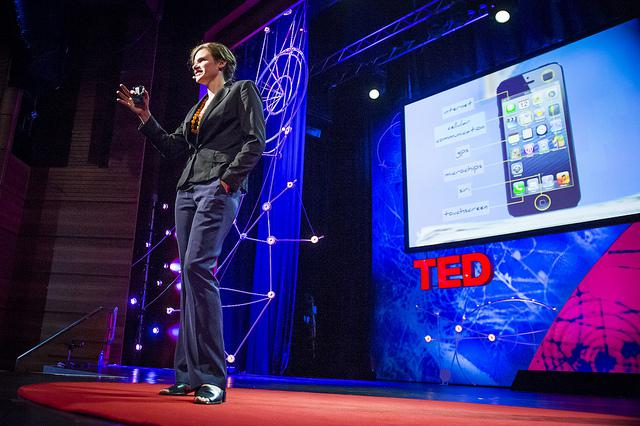 Mariana Mazzucato at TEDGlobal, June 2013 (photo: James Duncan)