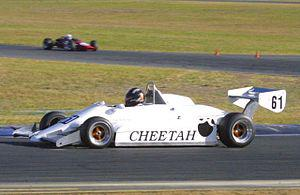 English: Cheetah Mk. 8 open wheel racing car