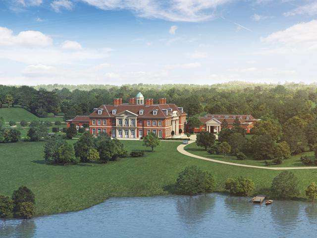 For sale and fit for royalty manors estates and castles for Country mansion for sale