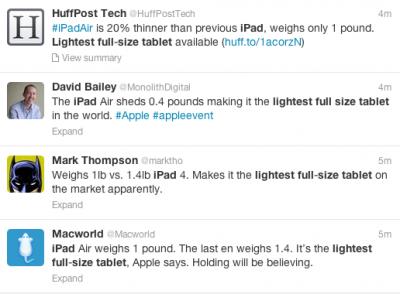 Three Creative Presentation Tips From Apple's iPad Air Launch