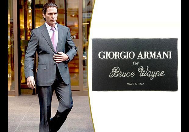 Bruce Wayne's suit - p... Giorgio Armani