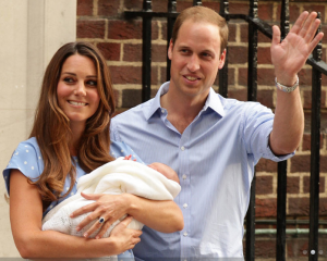 Kate, Will and George