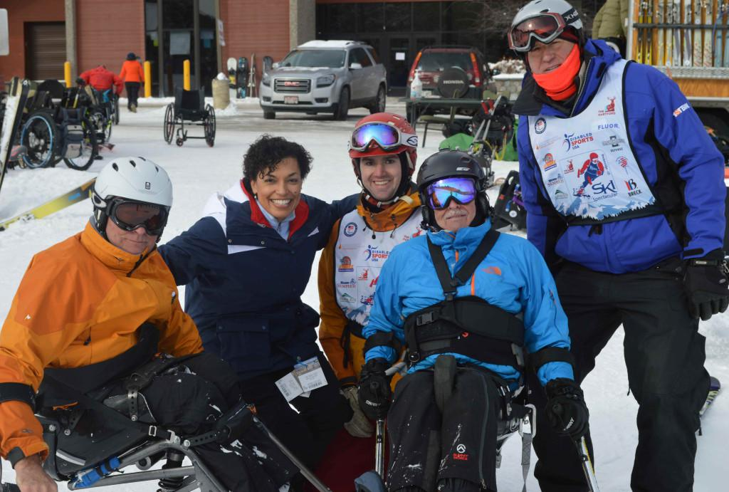 DSUSA Hartford Ski Spectacular Dec. 2013 in Breckenridge, CO (image courtesy of Allen Haine)