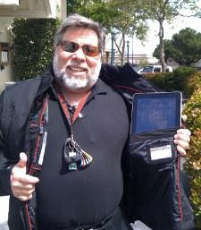 Steve ″The Woz″ Wozniak is an advisor to SCOTTEVEST