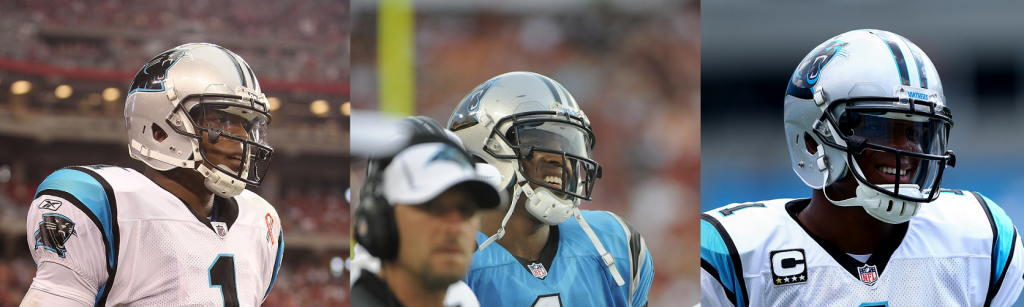 9ae2a7273b1c Cam Newton Has Committed NFL Uniform Violation For His Entire Career