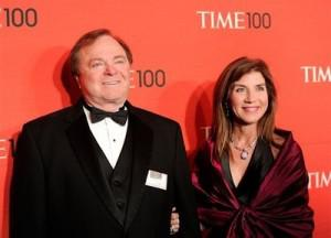 Divorcing couple Harold and Sue Ann Hamm at the TIME 100 gala in 2012. (AP Photo/Evan Agostini).