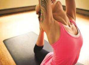 You don't have to know pigeon pose to be CEO. Photo: Lululemon.com.